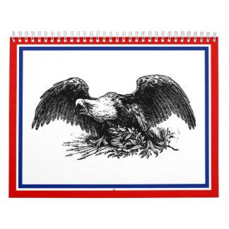 Vintage War Eagle Calendar