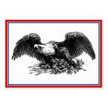 Vintage War Eagle Large Business Card