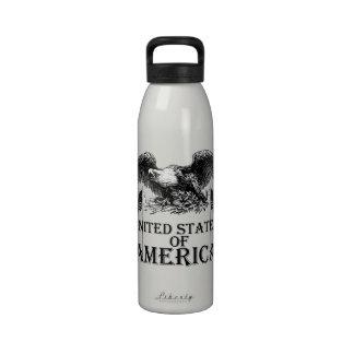 Vintage War Eagle Drinking Bottle