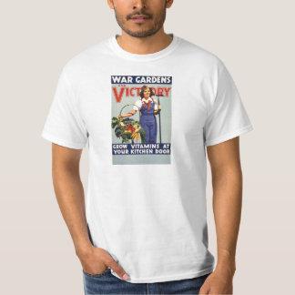 Vintage War For Victory Gardens T-Shirt
