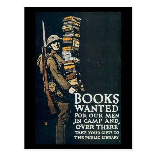 Vintage War Postcards, Books wanted