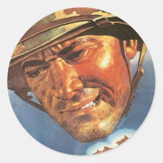 Vintage War Poster - Japan Next Stickers