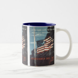 Vintage War Poster Mug - Not Die in Vain!