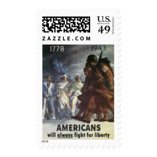 Vintage War Poster postage