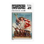 Vintage War Poster - Stamp