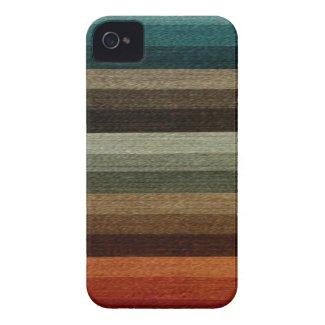 Vintage Warm Autumn Stripes Iphone 4 Tough Covers