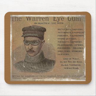 Vintage Warren Eye Guard Mouse Pad