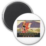 Vintage Warrenpoint Imán