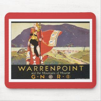 Vintage Warrenpoint Mousepads