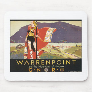 Vintage Warrenpoint Mouse Pads