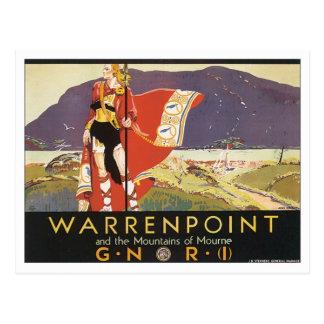 Vintage Warrenpoint Postal