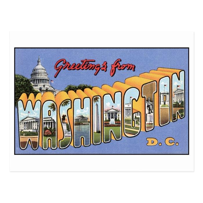 Vintage Washington, DC Postcard