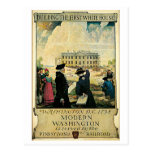 Vintage Washington DC travel advert Post Cards