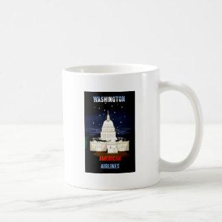 Vintage Washington DC Travel Coffee Mug