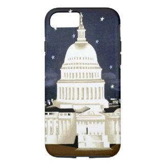 Vintage Washington DC Travel iPhone 7 Case