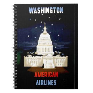 Vintage Washington DC Travel Notebook