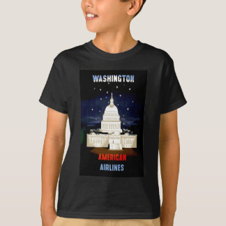 Vintage Washington DC Travel T-Shirt