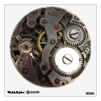 Vintage Watch Gears - wall decal