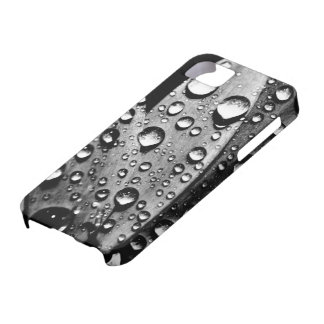 Vintage Water Drops Cool Photography iPhone 5 Case