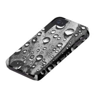 Vintage Water Drops Cool Photography iPhone 4 Case