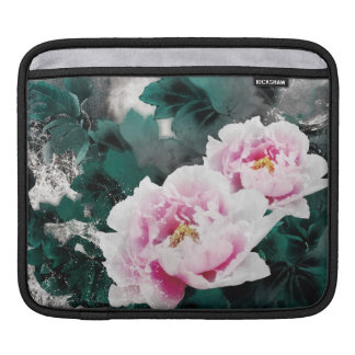 Vintage Water Lily Flowers - Chinese Painting Art iPad Sleeves