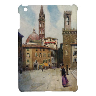 Vintage watercolor painting Florence Campanile iPad Mini Cover