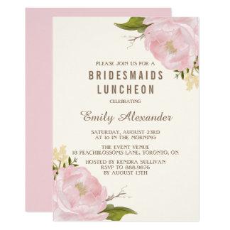 Bridesmaid Luncheon Invitations Announcements Zazzle