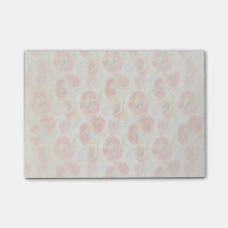 Vintage Watercolor Poppies Post-it® Notes