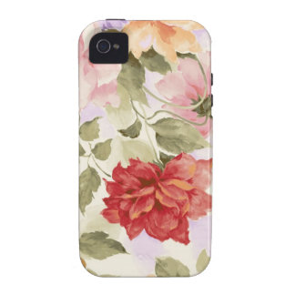 Vintage Watercolor Roses Case-Mate iPhone 4 Cases