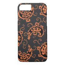 Vintage watercolor-style Kashmir pattern iPhone 7 Case
