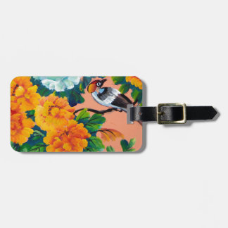 Vintage Watercolour Birds Tags For Bags