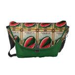Vintage Watermelon Seed Packet Messenger Tote Messenger Bag