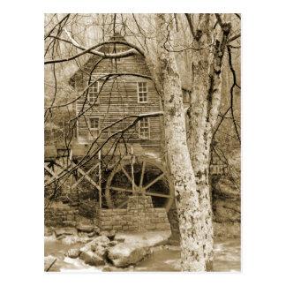 Vintage Waterwheel Postcard