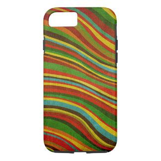 vintage wave texture iPhone 7 case
