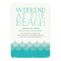 Girls Weekend Invitations Announcements Zazzle