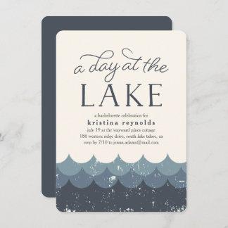 Vintage Waves   Day at the Lake Invitation