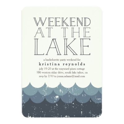 Girls Weekend getaway itinerary Invitations Zazzlecom