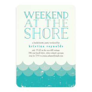 Weekend Getaway Invitations Announcements Zazzle