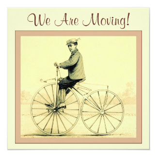 Vintage ~ We Are Moving! Card
