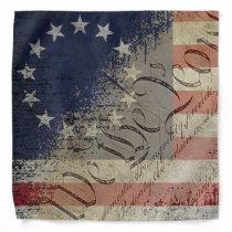 Vintage We The People Betsy Ross Flag Bandana