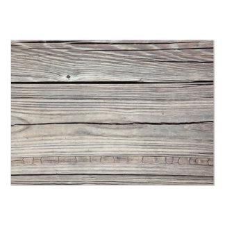 Vintage Weathered Wood Background - Old Board Card