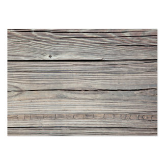 Vintage Weathered Wood Background - Old Board Large Business Cards (Pack Of 100)