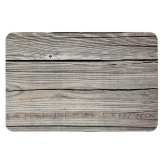 Vintage Weathered Wood Background - Old Board Magnet