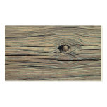 Vintage Weathered Wood Background - Old Wooden Double-Sided Standard Business Cards (Pack Of 100)