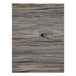 Vintage Weathered Wood Background - Old Wooden Posters