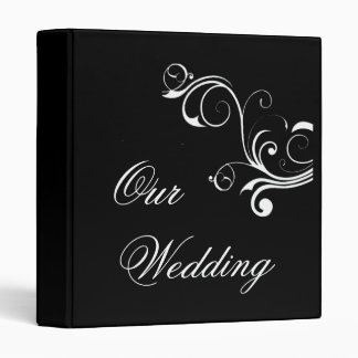Vintage Wedding Album - Customized Avery Binder