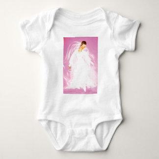 Vintage Wedding Ballet Baby Bodysuit