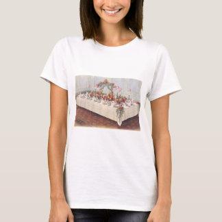 Vintage Wedding Banquet Table T-Shirt