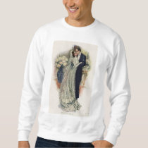 Vintage Wedding Bells Bride And Groom Sweatshirt