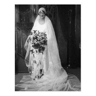 Vintage Wedding Bride Post Cards